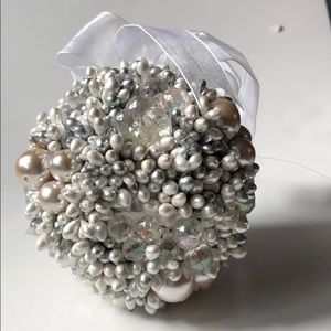*6 for $30* Pearl ball ornament